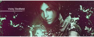 Claire Redfield sign by VickyxRedfield