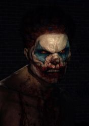 Nicky the clown by Tussa