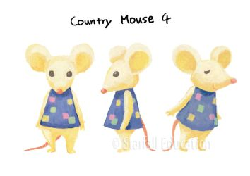 Country Mouse (4) Character Design by manosanai