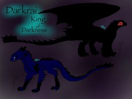Dragon Booster OC: Darkrai the King of Darkness by BlackDragon-Studios