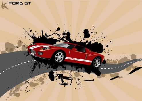 FORD GT by Metempsicosi