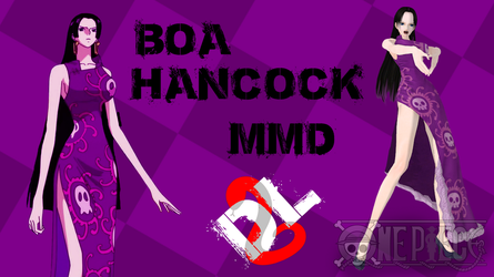 MMD One Piece Boa Hancock DL by Friends4Never