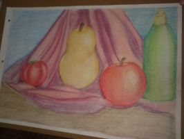 Queen Pear...and other friends by evaal2005