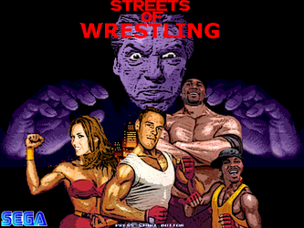 Streets Of Wrestling by Tiraass