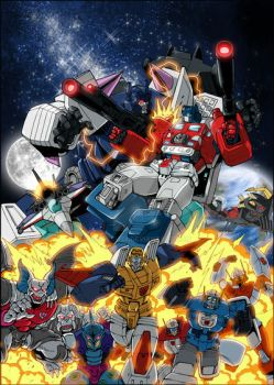 Transformers Masterforce DVD by GuidoGuidi