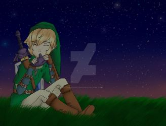 Midnight Link [Commission] by toriegarcia89