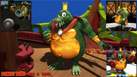 (MMD Model) King K. Rool (SSBU) Download by SAB64