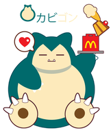 Hungry Snorlax for FB Friend ::RQ::