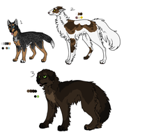 Adoptables for COR -1- CLOSED by Sparaze