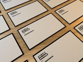 Minimal II Business Card by Freshbusinesscards