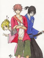 Fully colored Death Champloo by moonraven373