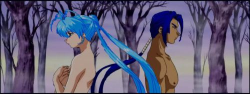 RK: Darken Forest Angel and Aoshi by Angel-of-Love