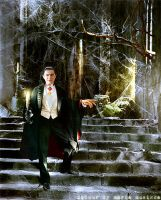 Bela Lugosi ~~ (Dracula) ~~1931 ~~ colourised by Maria-Musikka