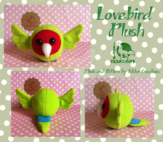 Lovebird Plush FOR SALE by Ishtar-Creations