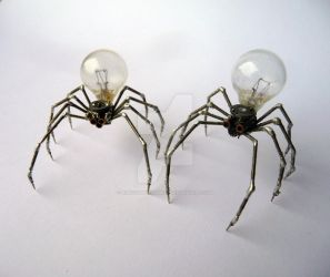 Spiders Nos Five and Six by AMechanicalMind