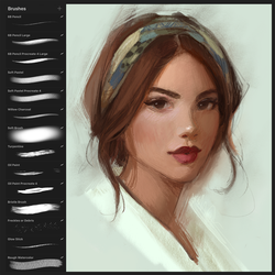 Procreate App Brushes by GabrielleBrickey