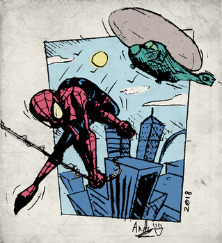 Spider-Man - old school colors by botconboy