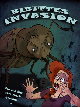 Poster ''Bibittes Invasion'' by MecaniqueFairy