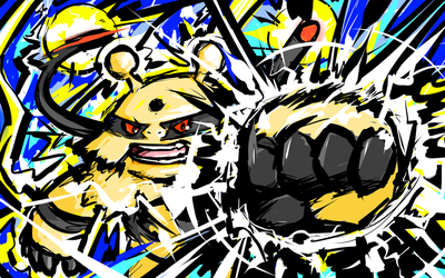 Electivire | Thunder Punch by ishmam