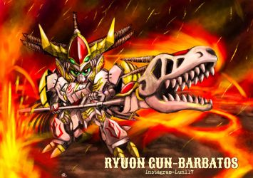 RyuOn GunBarbatos by lun616