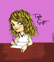 taylor swift in cartoon by jarhead02