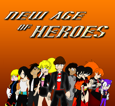 New Age of Heroes Wallpaper by LunarSpawnSerenata