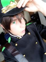 Seraph of the end: Yoichi Saotome by Smexy-Boy