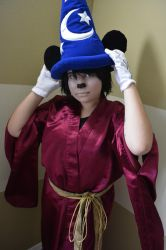 Sorcerer's Apprentice Mickey Mouse Cosplay by YamiKlaus