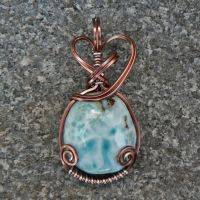 Clear Skies Pendant by magpie-poet
