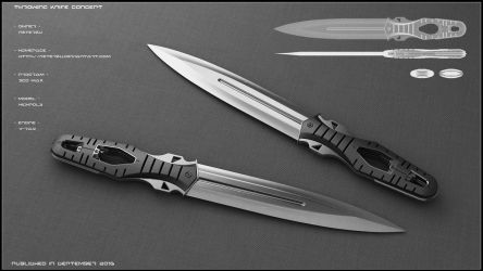 Throwing knife concept by peterku