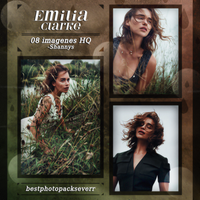 Photopack 5800 - Emilia Clarke by southsidepngs