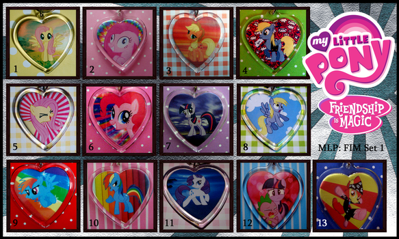 My Little Pony - Friendship is Magic! Set 1 End by ObjectionSoS