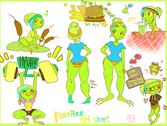 Frog Chick Ref by temporaryWizard