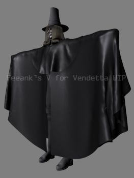V for Vendetta wip 8 by feeank
