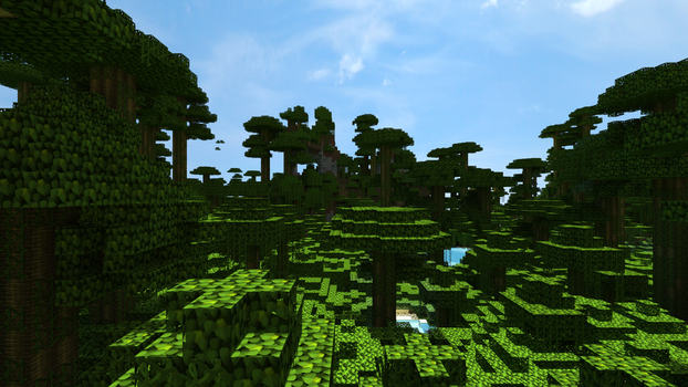 Scenic Jungle 2 by JumanjiCraft