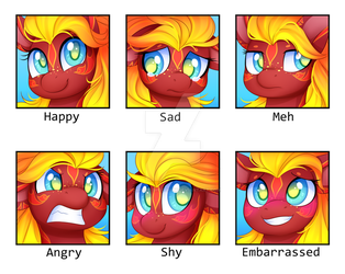 Faces of Firecloud [C] by Scarlet-Spectrum
