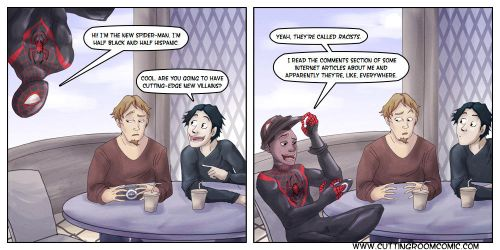 Ultimate Spider-Man by CuttingRoom
