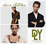 9 |ALICIA VIKANDER | PNG PACK by dariayourlocalidiot