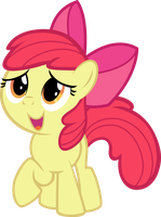 Applebloom - Can Ah go see mah Friends Now? by Firestorm-CAN