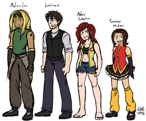 In Case You Thought I Gave Up On My OCs by serenamidori