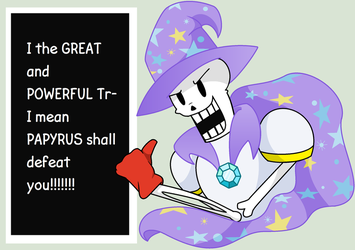 The GREAT and POWERFUL Papyrus by CSOX