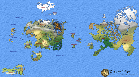 Planet Nirn - Geopolitical (v1) by hori873