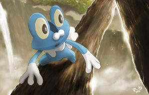 Pokemon: Froakie
