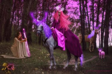 Queen of the Enchanted Forest by Branka-Johnlockian