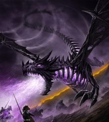 Bone Dragon by John-Stone-Art
