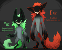[CLOSED] Adopts Auction YUZ and DAX by Terriniss
