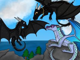 Contest Entry (Lazurite, Mystic, and Soul) by xXShadowFang99Xx