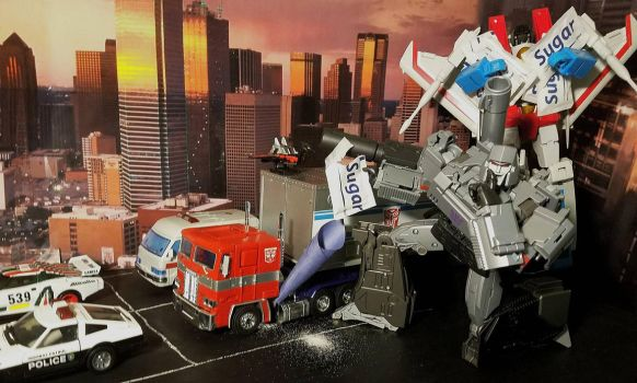 Why Autobots don't sleep in parking lots. by ThePrincessRobotRoom