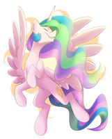 Sun pony by Luximus17