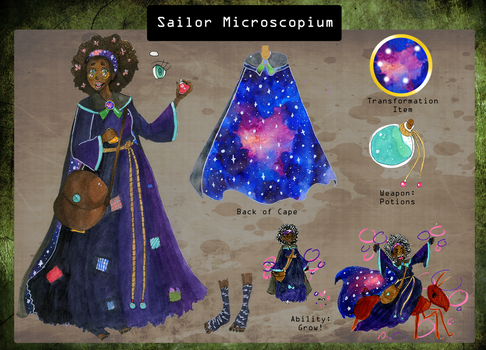 Sailor Microscopium by KearaLemon